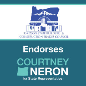 Oregon State Building & Construction Trades Council Endorsement